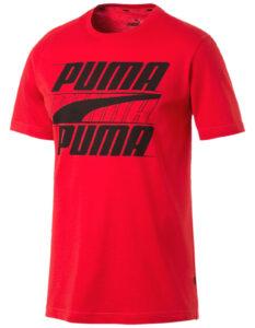 Pánske  Rebel Tričko Puma -  červená
