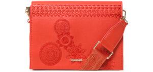 Dámske  Dark Amber Imperia Cross body bag Desigual -  červená