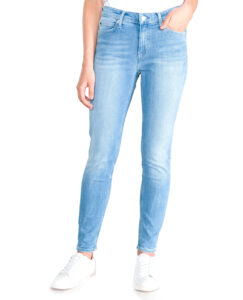Dámske  011 Jeansy Calvin Klein -  modrá