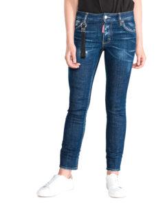 Dámske  Runway Jeans DSQUARED2 -  modrá