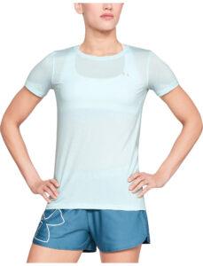 Dámske  HeatGear® Tričko Under Armour -  modrá