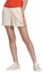 Dámske  Šortky adidas Originals -  žltá biela