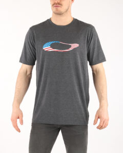 Pánske  USA Tričko Oakley -  šedá