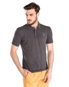 Pánske  Elabas 2 Polo tričko Napapijri -  šedá