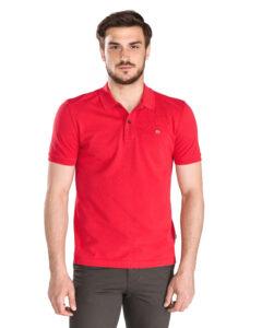 Pánske  Elios Polo tričko Napapijri -  červená