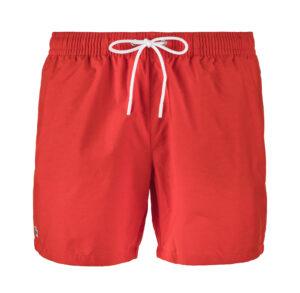 Pánske  Plavky Lacoste -  červená oranžová