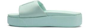 Dámske  Šľapky Puma -  modrá zelená