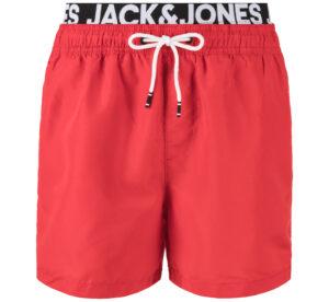 Pánske  Cali Plavky Jack & Jones -  červená