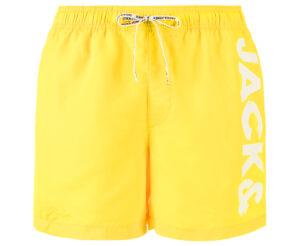 Pánske  Cali Plavky Jack & Jones -  žltá