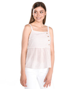 Dámske  Coco Top Vero Moda -  biela béžová
