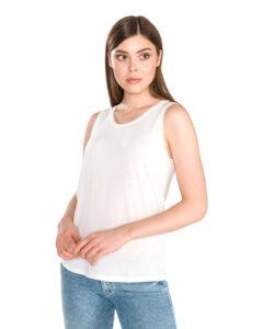 Dámske  Ava Top Vero Moda -  biela