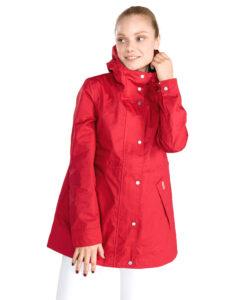 Dámske  Kabát Hunter -  červená
