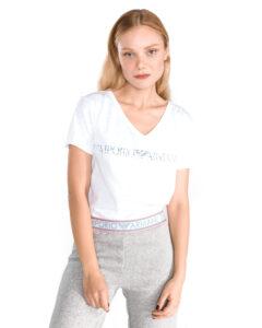 Dámske  Tričko na spanie Emporio Armani -  biela