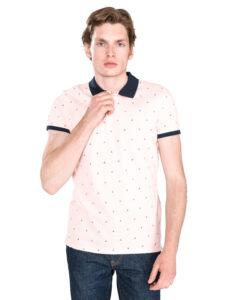 Pánske  Polo tričko Scotch & Soda -  béžová