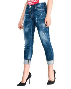 Dámske  Jeans DSQUARED2 -  modrá