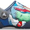 Chlapčenské  Marvel Multi Clog Crocs detské Crocs -  modrá viacfarebná