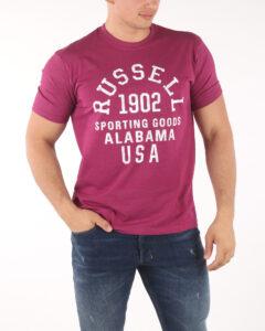 Pánske  Tričko Russell Athletic -  červená