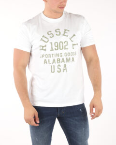 Pánske  Tričko Russell Athletic -  biela