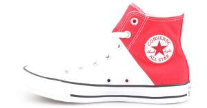 Dámske  Chuck Taylor All Star High Tenisky Converse -  červená biela