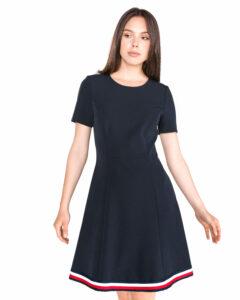 Dámske  Angela Global Šaty Tommy Hilfiger -  modrá