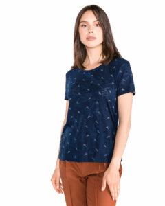 Dámske  Tričko Tom Tailor Denim -  modrá
