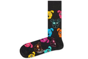 Pánske  Dog Ponožky Happy Socks -  čierna