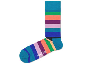 Pánske  Stripe Ponožky Happy Socks -  modrá viacfarebná