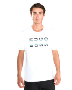 Pánske  Tiburt 101 Tričko BOSS Hugo Boss -  biela