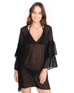 Dámske  Urban Gypsy Plážové kimono Michael Kors -  čierna