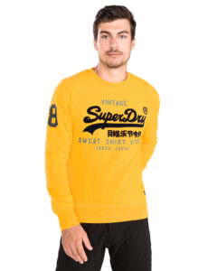 Pánske  Mikina SuperDry -  žltá