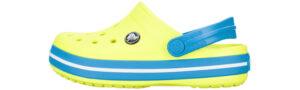 Chlapčenské  Crocband™ Clog Crocs detské Crocs -  modrá žltá