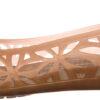 Dámske  Isabella Jelly II Balerínky Crocs -  zlatá béžová