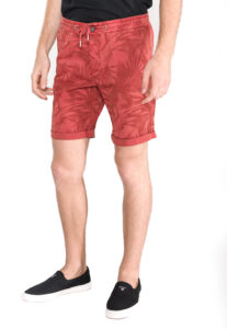 Pánske  Kraťasy Tom Tailor Denim -  červená