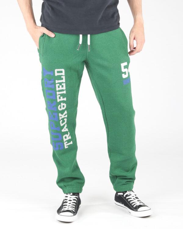 Pánske  Tepláky SuperDry -  zelená