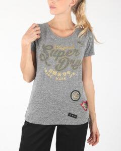 Dámske  Tričko SuperDry -  šedá
