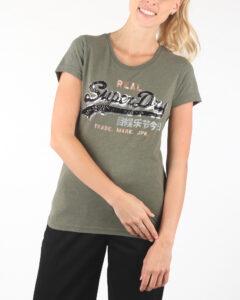 Dámske  Tričko SuperDry -  zelená