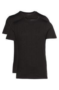 Pánske  Spodné tričko 2 ks Tom Tailor -  čierna