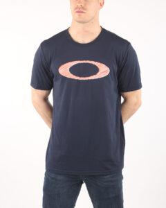 Pánske  Legacy Tričko Oakley -  čierna modrá