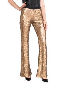 Dámske  Nohavice TWINSET -  zlatá