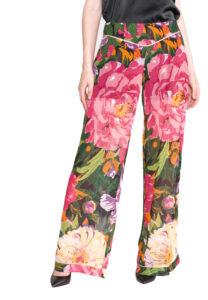 Dámske  Nohavice TWINSET -  ružová viacfarebná