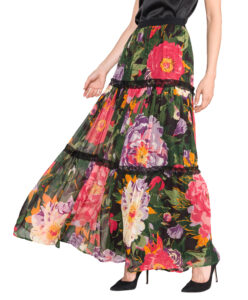 Dámske  Sukňa TWINSET -  ružová viacfarebná