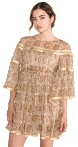 Dámske  Šaty TWINSET -  zlatá béžová