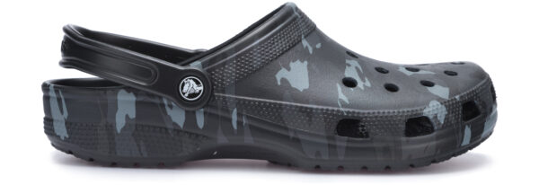 Pánske  Classic Seasonal Graphic Clog Crocs Crocs -  čierna