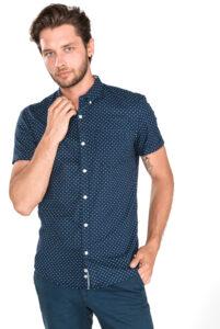 Pánske  Košeľa Tom Tailor Denim -  modrá
