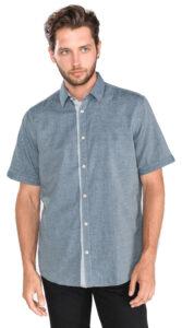 Pánske  Košeľa Tom Tailor -  šedá