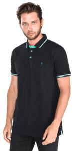 Pánske  Polo tričko Trussardi Jeans -  čierna