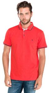 Pánske  Polo tričko Trussardi Jeans -  červená