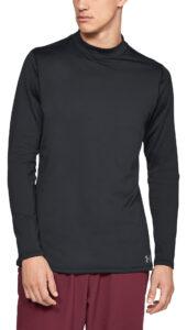 Pánske  ColdGear® Armour Tričko Under Armour -  čierna