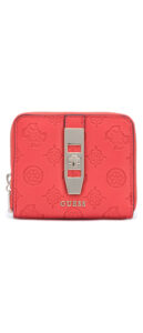 Dámske  Peony Classic Small Peňaženka Guess -  červená