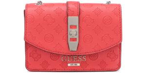Dámske  Peony Classic Mini Cross body bag Guess -  červená